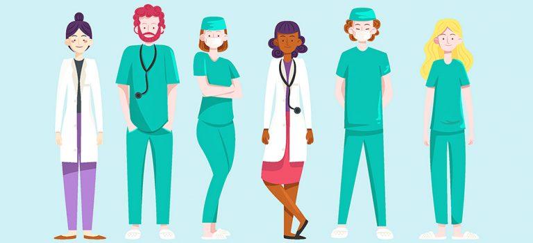 Médicos y enfermeras: cuidado con los estereotipos.
